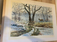 LITHOGRAPH BACHELOR SIGNED LISTED CLAY MCGAUGHY (20THC)