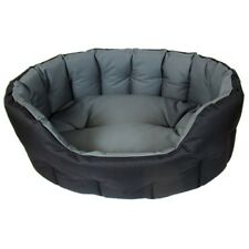 P&L Superior Country Dog Heavy Duty Waterproof Oval Drop Front Softee Dog Bed S5