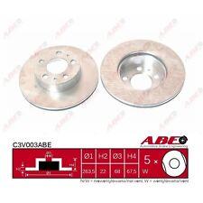 Bremsscheibe, 1 Stück ABE C3V003ABE