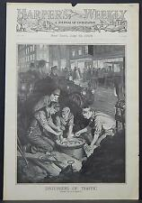 Harper's Weekly Cover-Page A4#50 Jul. 1909 Disturbers of Traffic
