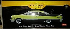 1959 DODGE CUSTOM ROYAL LANCER Diecast 10inch SUNSTAR 1:18 PLATINUM 5482 Yellow