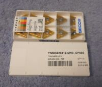 SECO   CARBIDE  INSERTS     TNMG 433 -MR3    PACK OF 10    GRADE  CP500