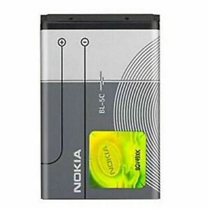 🔥Replacement Nokia BL5C BATTERY C2 01 02 03 06 C1 7600 N70 1100 1600 2300 6230