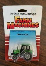VINTAGE ERTL FARM MACHINES 1/64 IN SCALE  DEUTZ  ALLIS TRACTOR #1241 NEW