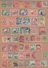Assortment used Africa - Uganda, Tanganyika, Rhodesia, Cape of Good Hope, etc.