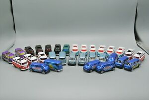 Matchbox Volkswagen Microbus & Transporter Lot of 31 Diecast Vehicles EX-NM!