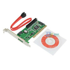New 3 Port Sata +IDE PCI Controller Card For Disk VIA 6421A For Desktop Xbox PC