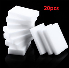 20PC New Magic Sponge Eraser Multi-functional Cleaning Easy Cleaner Pad Foam Hot