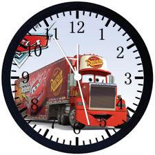 Disney Cars Mack Black Frame Wall Clock Nice For Decor or Gifts Z161