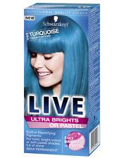 Schwarzkopf LIVE ULTRA BRILLANTI 096 Turchese Tentazione semi-permanente tintura per capelli