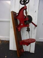 Antique Buffalo Forge Co. Hand Drill Press No. 145
