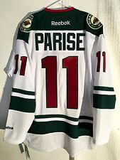 Reebok Premier NHL Jersey Minnesota Wild Zach Parise White sz 2X