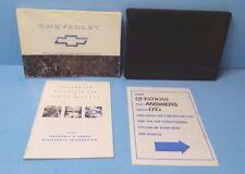 94 1994 Chevrolet Camaro owners manual