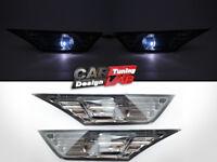 (2) Smoke Front Bumper Reflector Side Marker Light Lamps For 16-19 Honda Civic X