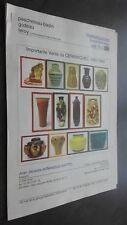 Katalog Autoverkauf Drouot Richelieu Ceramiques 1880-1940 Pescheteau-Badin