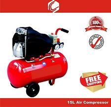 1 HP 15L Direct Drive Air Compressor - Power Source for all Air Tools-Heavy Duty