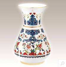 HANDMADE Vase original Kutahya porcelaine