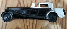 Vintage 1927 Bugatti Wild Country After Shave Glass Bottle Vtg