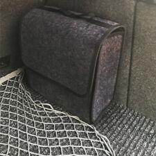 Car Trunk Organizer Foldable Storage Box Cargo Bag Portable Gray Woolen Felt