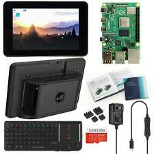 "Vilros Raspberry Pi 4 Desktop kit with Official 7"" Touchscreen & Mini Keyboard"