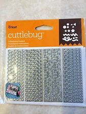 Cricut Cuttlebug Cut & Emboss Die Set CELEBRATION CONFETTI  2003777 NEW