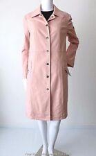 LISA HO  Long Sleeve Snap Button Pink Denim Coat Size 10  US 6