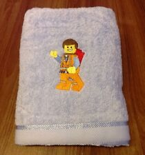 EMBROIDERED  BATH TOWEL  -  EMMETT FROM LEGO MOVIE