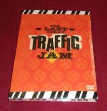 Traffic - The Last Great Traffic Jam RARE OOP DVD + CD combo, Jerry Garcia