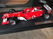 """F1 Ferrari F2003 GA """"Marlboro"""", M. SCHUMACHER, 1/18 Comme NEUF dans boite"""