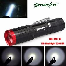3500 Lumens 3 Modes CREE XML XPE LED Flashlight Torch Lamp Light Outdoor