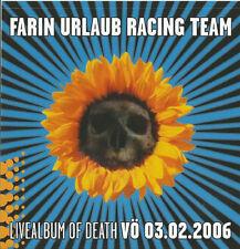 FARIN URLAUB RACING TEAM - LIVEALBUM OF DEATH AUFKLEBER 10 x 10 cm DIE ÄRZTE