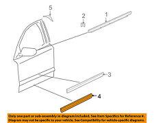 AUDI OEM 04-10 A8 Quattro Front Door-Lower Molding Trim Left 4E0853959CGRU