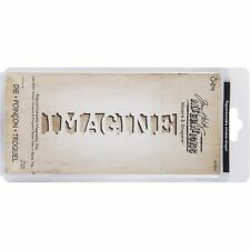 SIZZIX Tim Holtz découpe IMAGINE - movers & shapers die cuttlebug scrapbooking