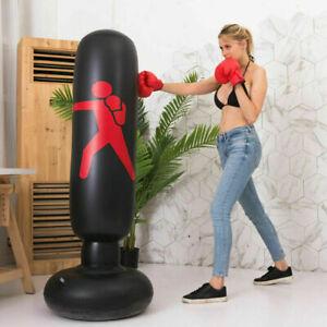 Children Boxing Punching Bag Set Kids Punch Bag Boys Training Fitness Gift Pack