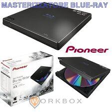 MASTERIZZATORE ESTERNO BLU-RAY BD-RW Pioneer BDR-XD05TB ext. Slim NERO 6x2x6x