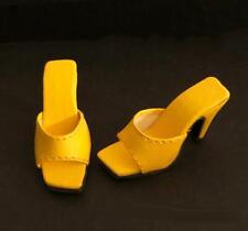 """Shoes Sandals for 16"""" Tyler Gene Tonner Dolls Slip-on Kingstate Sunflower Yellow"""
