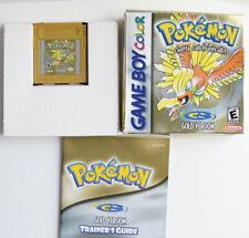 AUTHENTIC Pokemon Gold Version New Battery CIB Complete GBC