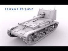 28mm Italian Semovente 90/53 SP Gun, Resin By Blitzkrieg WWII Bolt Action