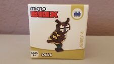 Micro Brix Series 4 Owl Brand new Factory sealer Ages 9+