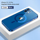 For Apple iPhone 13 ProMax 12 Pro Max 11 ProMax Clear Magnet Case Mag Safe Cover
