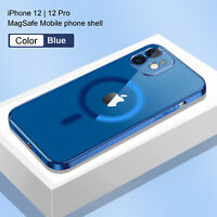 Clear Magnetic Case Mag Safe Cover For Apple iPhone 12 Pro Max 12 Mini 11 ProMax