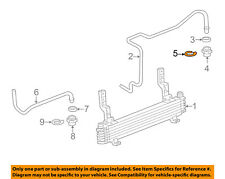 GM OEM Transmission Oil Cooler-Outlet pipe clip 24205103