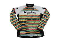 Primal Men's Schneider Electric Cycling Bike Race Jersey XL Long Sleeve Full Zip
