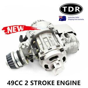 2 STROKE HIGH PERFORMANCE PULL START 49CC ENGINE MOTOR POCKET BIKE SCOOTER ATV