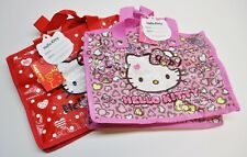 0f6517b727 New Small Tarp Sanrio Hello Kitty Lunch Bag Tote Shopping Handbag