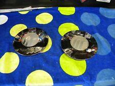 1996 - 2000 Mercury Sable -- Wheel Center Caps -- 1 pair -- Chrome
