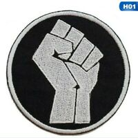 Black Lives Matter Embroidered Sew/Iron On Patch BLM Protest Yellow USA A+++ LO