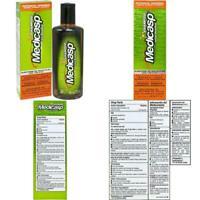 Medicasp Coal Tar Gel Dandruff Shampoo To Treat Seborrheic Dermatitis Psoriasis,