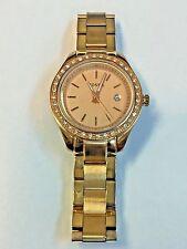 Fossil Women's ES3196 Stella Mini Analog Rose Gold-Tone Steel Bracelet Watch