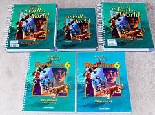 BJU Bob Jones (6th grade) READING 6 - As Full as the World - COMPLETE SET! SAVE!